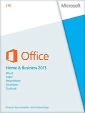Microsoft Office 2013 Home and Business 2013 PKC Vollversion (Produkt Key Card)