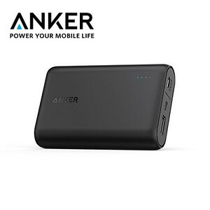 quality design dc76f 9dfa4 Details about Anker PowerCore 10000 Portable Compact Ultra Light Fast  Charger for iPhone 6 7
