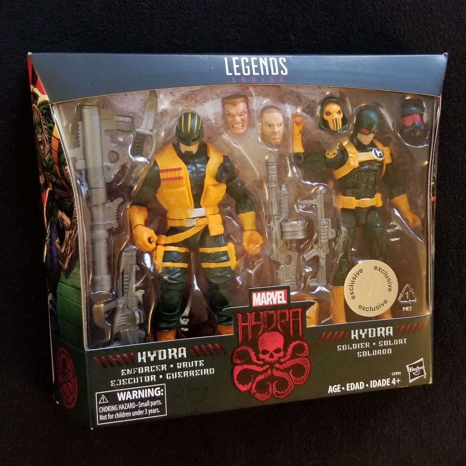 Marvel Legends HYDRA SOLDIER & ENFORCER Toys R Us 2PK TRU Figure Set