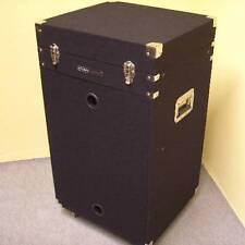 16/10 HE TXT-Winkelrack Winkelcase Kombi-Case,16HE, Textilbezug, sw, rollbar NEU