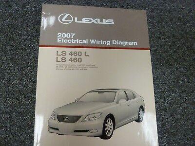 2007 Lexus LS 460 Sedan Electrical Wiring Diagram Manual L 4.6L V8 No.  EM0362U   eBayeBay