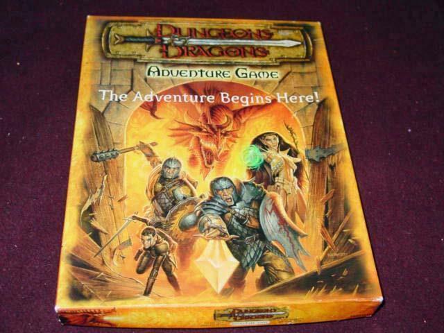 TSR 2000-Donjons & Dragons-Jeu d'Aventure-L' aventure commence  (40% UNP)