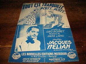 Jacques-Helian-Spartito-Tout-E-Tranquillo