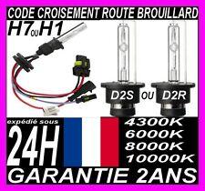AMPOULE FEUX DE RECHANGE 35W LAMPE POUR KIT XENON HID H7 H1 D2S D2R 6000K 8000K