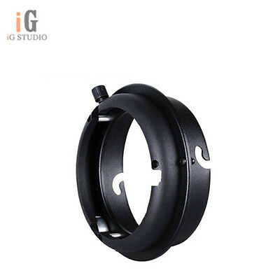 Elinchrom Mount To Bowens Interchangeable Ring Adapter for Photo Studio Flash