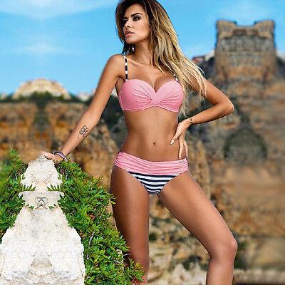 Womens Padded Push-up Bikini Set Beach Swimsuit Bathing Suit Swimwear Beachwear