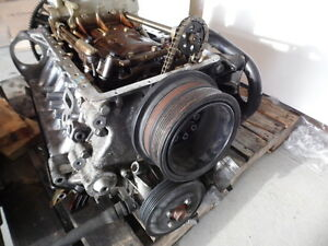 BMW I E ENGINE MOTOR ASSEMBLY L BLOCK ONLY PARTS - Bmw 645ci engine