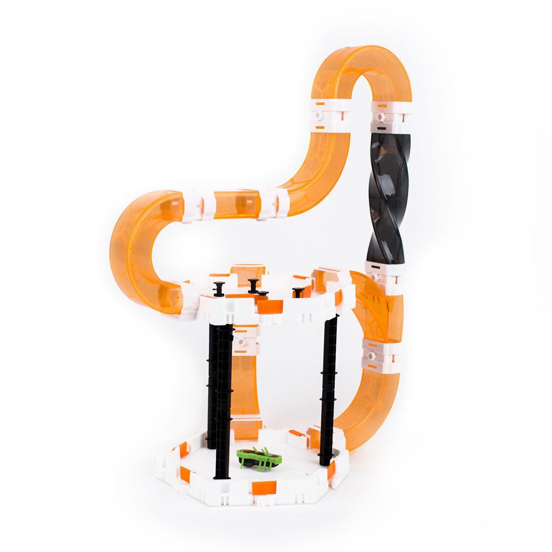 Hexbug 477-4438 Robots de juguete Calle Mini Robot Nano v2 Neón Barrel Roll