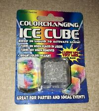 NEAT LIGHT UP COLOR CHANGING GLOW ICE CUBE