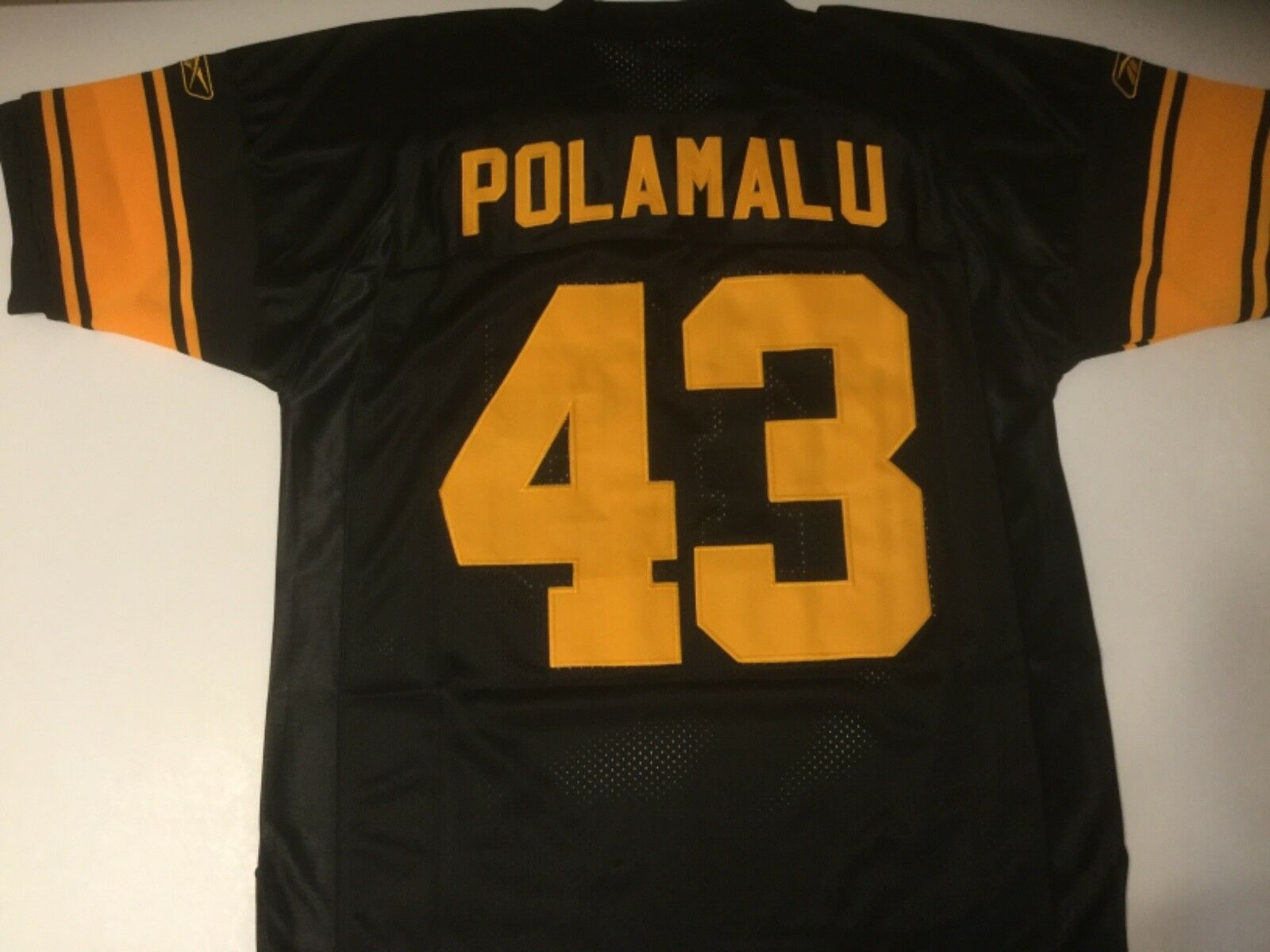 Maillot sport NFL - Pittsburgh Steelers, Polamalu - comme neuf (Taille M)