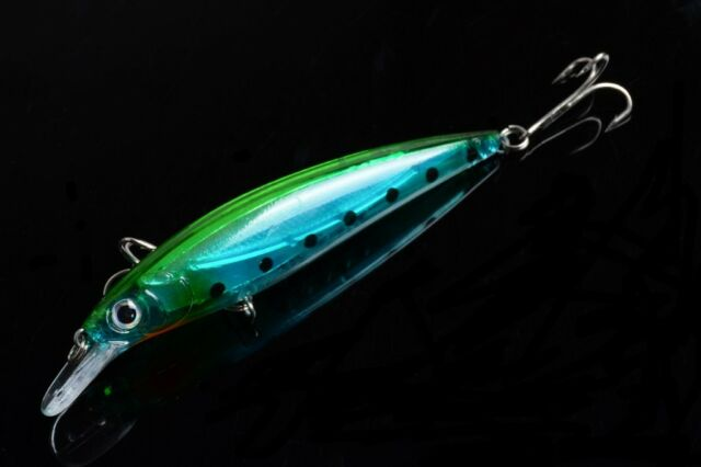 1pcs Minow  Fishing tackle 11cm//13.5g peche Wobbler Lure Crank baits bass !