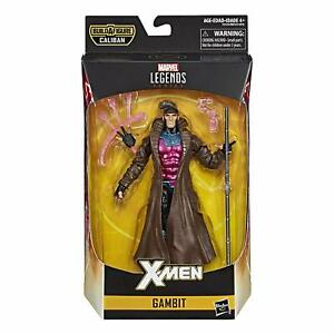 FREE-SHIPPING-Marvel-Legends-X-men-6-034-GAMBIT-Action-Figure-BAF-Caliban-Hasbro