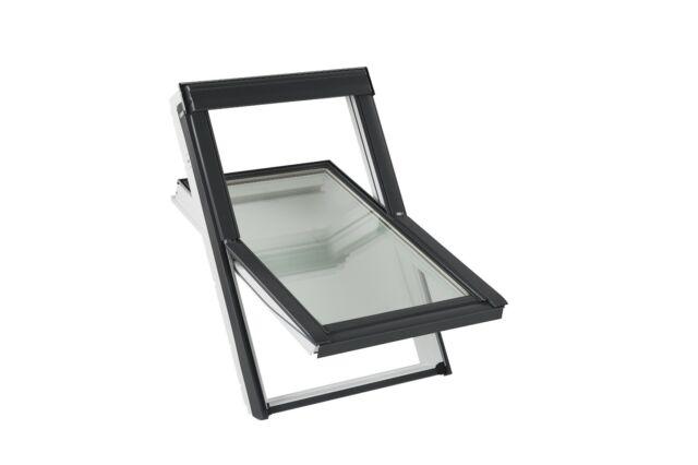 VELUX Schwingfenster, Dachfenster aus Kunststoff inkl. Eindeckrahmen