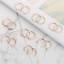 16Pcs-Stainless-Steel-Nose-Hoop-Rings-Cartilage-Helix-Ring-Lip-Ear-Piercing-20G thumbnail 4