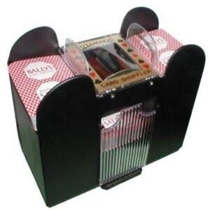 CHH 6-Deck Card Poker Shuffler Automatic Casino ...