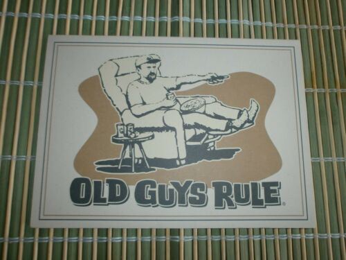 "10 OLD GUYS RULE CARDS WTTH ENVELOPES HERE'S TO THE KING OF THE REMOTE 5"" X7"""