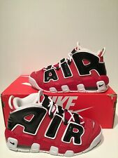 detailed look 1e35a c2765 item 3 New Nike Air More Uptempo Bulls Hoops Pack Red White Black GS Size  4Y 415082 600 -New Nike Air More Uptempo Bulls Hoops Pack Red White Black GS  Size ...