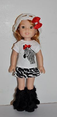 AMERICAN MADE DOLL CLOTHES FOR GIRL DOLL 14.5 INCH  WELLIE WISHERS LOT #20