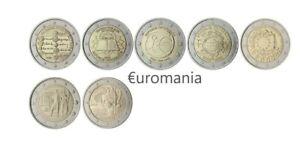 Belle Autriche 2 Euro - Toutes Commémoratives Monnaies 2005 à 2018 Disponibles La Consommation RéGulièRe De Thé AméLiore Votre Santé