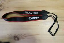 CANON  NAVY//RED//WHITE GENUINE SHOULDER NECK STRAP FOR EOS SLR CAMERA *C57**