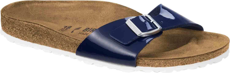 Birkenstock madrid madrid Birkenstock sandalias señora sandalias 1005311 estrecho azul navy nuevo 32fd75