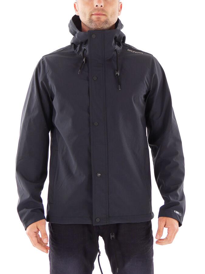 Brunotti vellón función chaqueta medio negro transpirable Lang