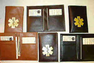 Hipster-bifold-Synthetic-Leather-like-Medical-Wallets-black-brown-amp-dark-brown