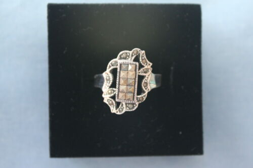 New Sterling Silver Marcasites Ring SZ 6 7 8