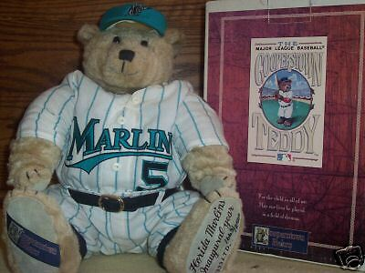 1993 Florida Marlins Inaugural Year Cooperstown Teddy