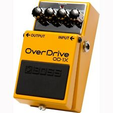 BOSS OD-1X Overdrive Guitar FX Pedal Stompbox w/ Multi-Dimensional Processing