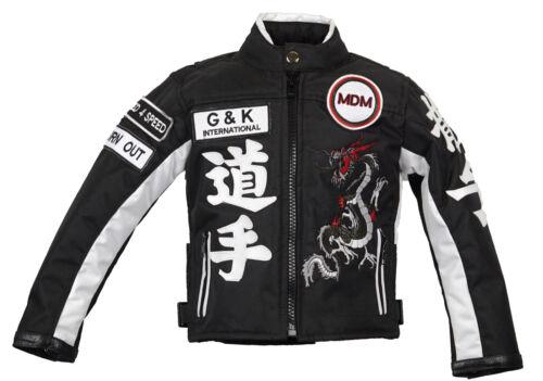 MDM Kinder Motorrad Jacke Racing Jacke