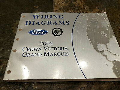 2005 Ford Crown Victoria Grand Marquis Wiring Diagrams Electrical Service  Manual | eBayeBay