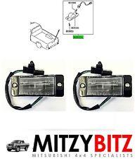 GENUINE MITSUBISHI L200 96-07 K62T K64T K74T K75T REAR NUMBER PLATE LAMP SET