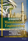 Introduction to Maintenance Engineering: Modelling, Optimization and Management by D. N. Prabhakar Murthy, Mohamed Ben-Daya, Uday Kumar (Hardback, 2016)