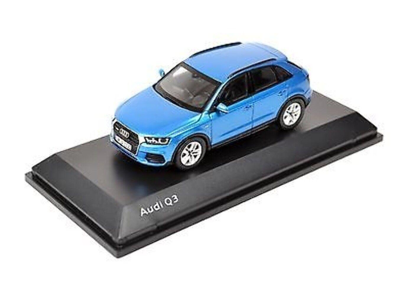 Audi q3 meine 2015 hainan blau, 1 43 5011403613