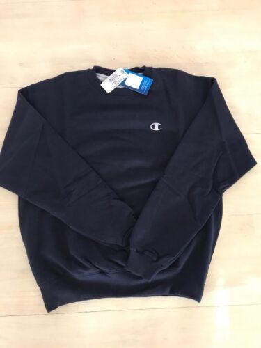 Navy Champion Men/'s Powerblend Fleece Pullover Sweatshirt