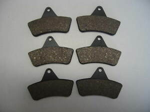 Front Rear Brake Pads ARCTIC CAT 250 300 375 400 500 2x4 4x4 Fit 1998-2004