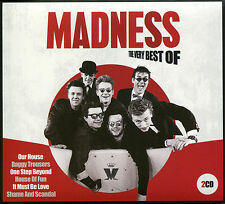 THE VERY BEST OF MADNESS - 2 CD BOX SET - OUR HOUSE, BAGGY TROUSERS & MORE