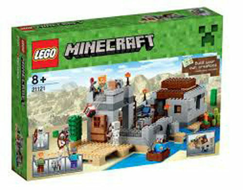 LEGO MINECRAFT 21121  L'avant-poste dans le désert   NEUF