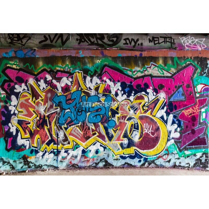 Wandaufkleber Deko Tag Graffiti Ref 11127 11127
