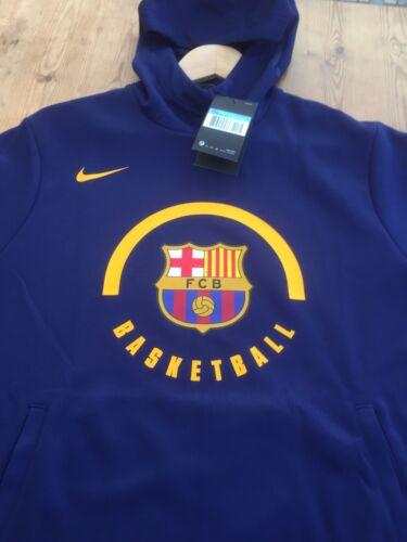 Felpa 933758 con Fcb Barcelona basket uomo da S da 421 nuova taglia Dri cappuccio Nike fit xnnPR4r1W