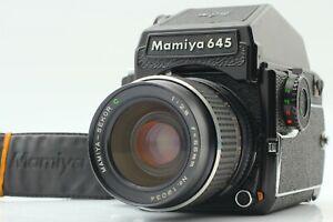 Exc-5-con-Cinturino-Mamiya-M645-1000S-CD-Finder-SEKOR-C-55mm-f-2-8-l-039-obiettivo-dal-Giappone