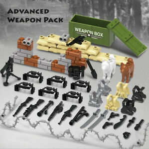 Custom-Military-Army-Guns-Weapons-Compatible-for-Lego-Set-Minifigure-Accessories