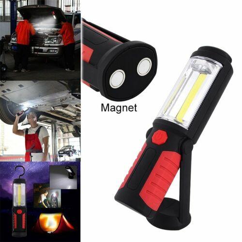 Lampe de travail LED lampe torche COB lampe lampe de la main avec aimant