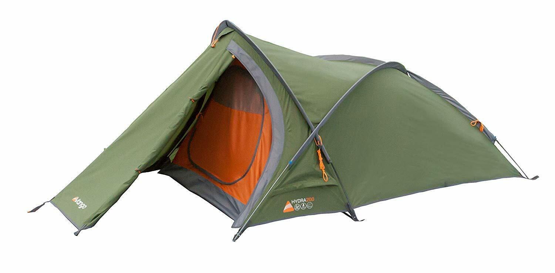 2 man Trekking Tent Lichte Pole Tent 2 Ligplaats Kamperen Groen NIEUW