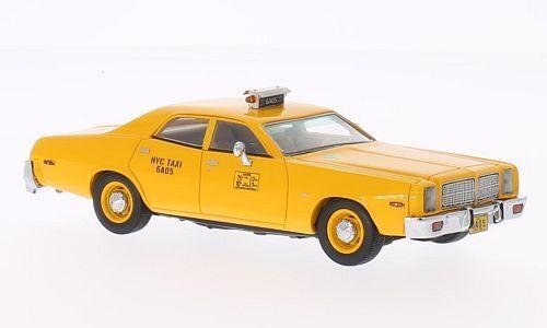 Dodge Monaco  New York City Taxi    1977 (Neo Scale 1 43   43514) 9e0736