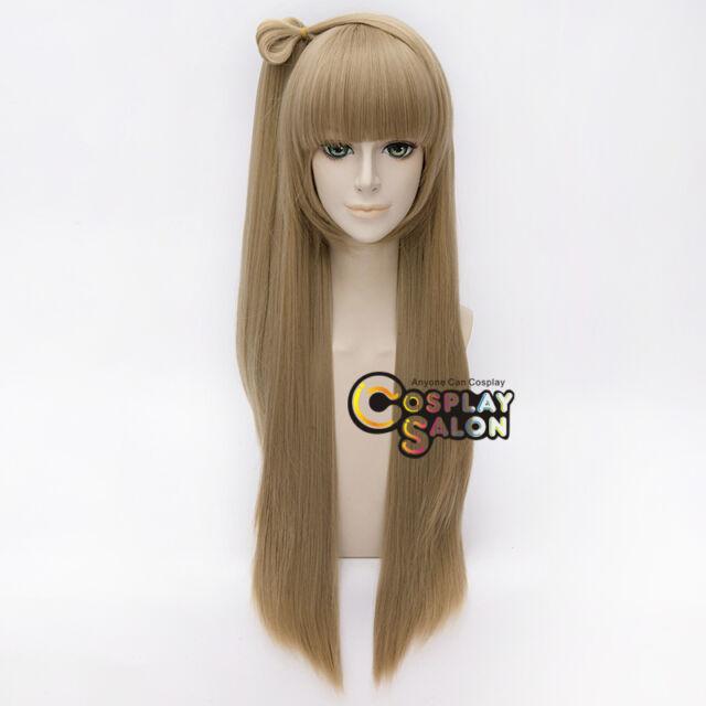 Love Live! Minami Kotori Cosplay Wig Fashion Flaxen 70cm Perücke Haar Halloween