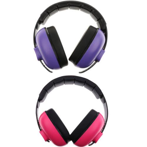 2 Pack set of Kids Ear Noise Attenuating Defenders Ear-Muffs 0-5 years