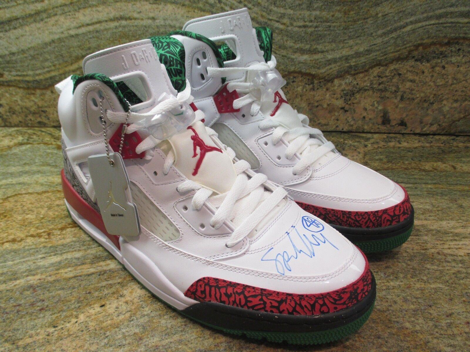 Nike Air Jordan Spizike OG SZ 11 Spike Lee Autographed blanc Retro 315371-125