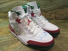 Nike Air Jordan Spizike OG SZ 11 Spike Lee Autographed White Retro 315371-125